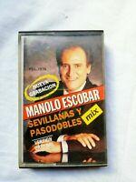 Manolo Escobar Sevillanas y pasodobles Mix Cinta Cassette  RCA 1990