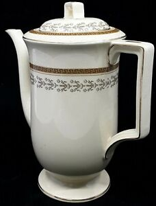 Vintage English Tea Pot - Antique Victorian Johnson Bros. England