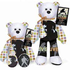 #013 Elvis Presley ELVIS LIVES Plush Collectible Stuffed Bear Limited Treasures