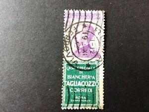 Briefmarken Italien - Zusammendruck 92R7 - mit Vollstempel