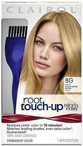 Clairol Nice 'n Easy Root Touch Up 8G Medium Golden Blonde 1 Kit