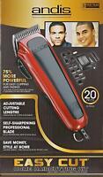Andis Hair Cutting Kit Professional Barber Machine Clipper Haircut Trimmer 20 Pc