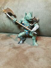 Papo Fantasy Rhino Warriors Nice Condition