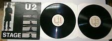 "U2 # 33 Giri # 12"" - STAGE - 2 LP - Ghenos 005/85/GE Live During USA Tour 1983"