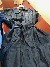 AJ ARMANI JEANS TRENCH COAT STUNNING SIZE 40 - ITALY