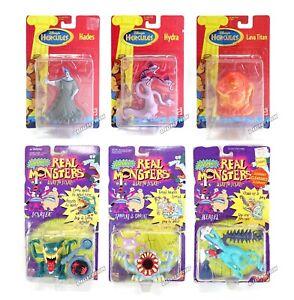 Mattel Action Figure Toy Vintage Nickelodeon Disney Pixar Nicktoons VHS Movie 90