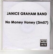 (GQ666) Janice Graham Band, No Money Honey - 2012 DJ CD