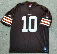 4e43d4037 Reebok Cleveland Browns Brady Quinn  10 brown size XXL 2XL jersey