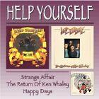 Help Yourself Strange Affair/Return Of Ken Whaley/Happy Days 2-CD NEW SEALED