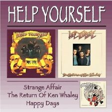 Help Yourself Strange Affair/Return Of Ken Whaley/Happy Days 2-CD NEW SEALED