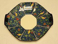 ANTIQUE ART DECO ROYAL DOULTON BIRDS BLUE CHINZ PERSIAN PARROTS BON BON PLATE