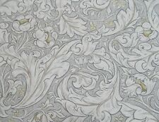 William Morris Fabric 'PURE BACHELORS BUTTON PRINT' 1.1 METRES Horned Poppy Grey