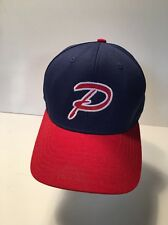 """Trucker Hat Baseball,Red """"P"""" outlined  White, Red Bill & Red button Fitted 7 3/8"""