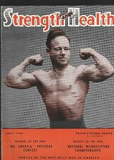 Strength and Health,July 1944-Dick Bechtell On The Cover