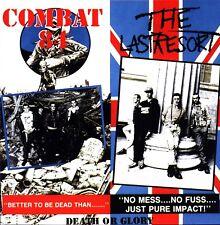 Combat 84/último recurso-la muerte o Gloria - (Rojo Vinilo Lp) - Paso Lp 125