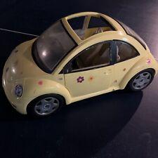 Barbie VW Volkswagen Beetle Bug Yellow Car, Mattel 2000