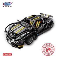 Xingbao Spielzeug Rennwagen Auto Modell Technologie Baukästen Gift  Toys 1177PCS