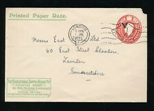 Gb 1945 Stationery Sto Educational Supply Assoc.Printed Rate 1d