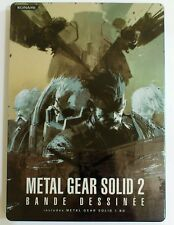 Metal Gear Solid 2 Bande Dessiné Steelbook 2 DVD Konami /Japon 2008