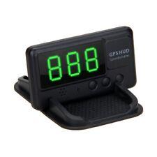 Auto Universal GPS HUD Tacho Anzeige Tachometer MPH/KM/h Geschwindigkeitswarnung
