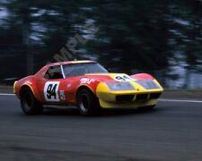 """Wilbur Pickett Chevy Corvette IMSA Series Racing Watkins Glen 8""""x 10"""" Photo 51"""