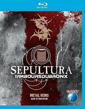SEPULTURA/TAMBOURS DU BRONX: METAL VEINS - ALIVE AT ROCK IN RIO NEW BLU-RAY