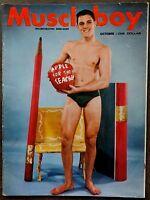 MUSCLE BOY vintage Beefcake Gay interest magazine Vol 1 #3 Oct 1963