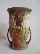 """Vintage Original Roseville Jonquil 71/4"""" Tall Vase. Excellent! Look!"""