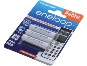 3 X Panasonic Eneloop Akku für Telekom T-Com Sinus Speedphone 100 Telefon Akku