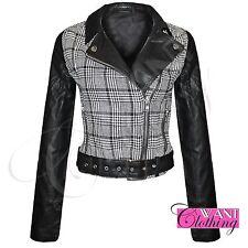 Zip Cropped Regular Size Coats & Jackets for Women