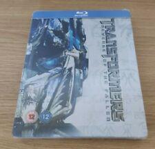 Transformers Revenge of the Fallen Blu-ray Steelbook - Embossed - OOP - V Rare!