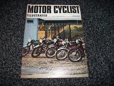 VINTAGE MOTOR CYCLIST ILLUSTRATED MAGAZINE - January 1970