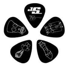 Planet Waves Joe Satriani Guitar Picks, Black, 10 Pack, Medium