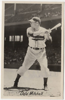 Dale Mitchell signed autographed postcard! RARE! Guaranteed Authentic!