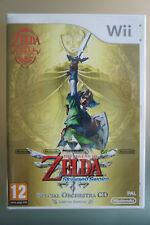 ZELDA SKYWARD SWORD SPECIAL ORCHESTRA CD, 25th anniversary LIMITED EDITION !!!