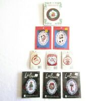 Lot of 9 New Berlin Design For The Needle Lace Counted Cross Stitch Ornament Kit