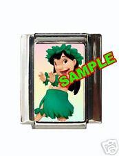 Lilo #1 Disney Custom Italian Charm Stitch cute!