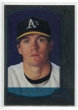 2000 Bowman Chrome #419 Barry Zito Oakland A's Rookie