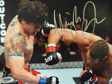 URIJAH FABER JR UFC SIGNED 8 x 10 Photo PSADNA COA Buy Genuine