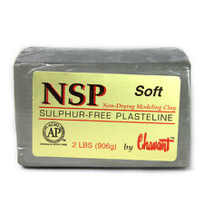 Chavant NSP Soft Green Sculpting and Modeling Clay (40lb case)