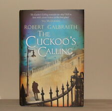 ~THE CUCKOO'S CALLING J K Rowling Robert Galbraith Hardcover NEW UK 1st Edition