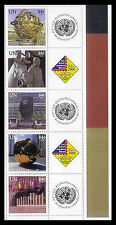 United Nations UN S14 NY #907c, 2006 Berlin Expo Personalized Stamps Strip of 5