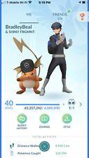 Pokemon Account Go Level 40! 562x Shiny! 10x 100iv Legendary! 3 M+ SD! 85 M+ XP