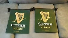 GUINNESS BEER BANNERS 19' LENGTH DOUBLE SIDED VINYL