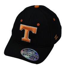 NCAA Zephyr Tennessee Volunteers Flex Fit Medium Large Black Hat Cap Stretch