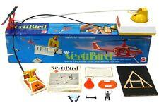 Vintage Mattel VertiBird Astronaut Rescue Mission Helicopter Complete w/Box Work