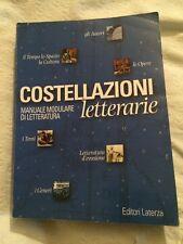 Libro Costellazioni Letterarie Manuale Modulare Di Letteratura