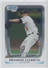 (15) 2011 11 Bowman Chrome Draft Brandon Culbreth Rookie Card Lot