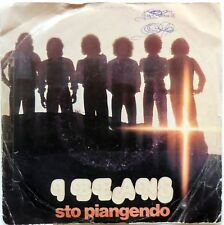 DISCO VINILE 45 GIRI I BEANS STO PIANGENDO VUOL DIRE CHE TI AMO ITALY 1976