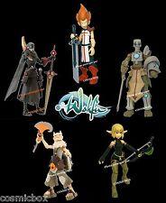 WAKFU lot de 5 figurines Tristepin Iop Remington Ruel Evangelyne Nox Krosmaster
